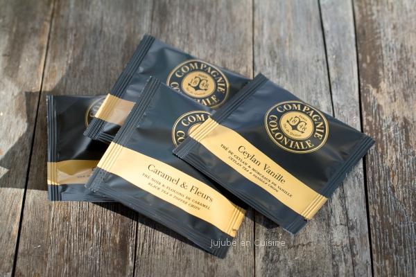 Thé noir vanille et thé noir caramel et fleurs - Compagnie Coloniale