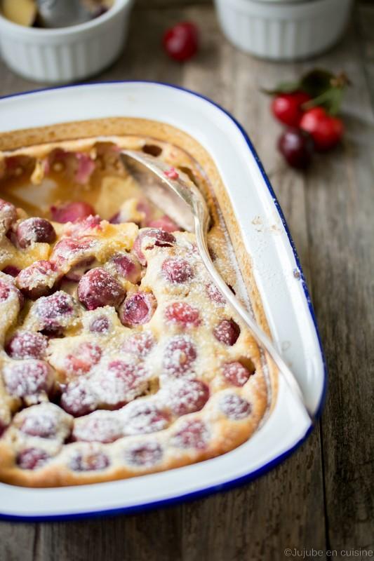 Clafoutis aux cerises | Jujube en cuisine