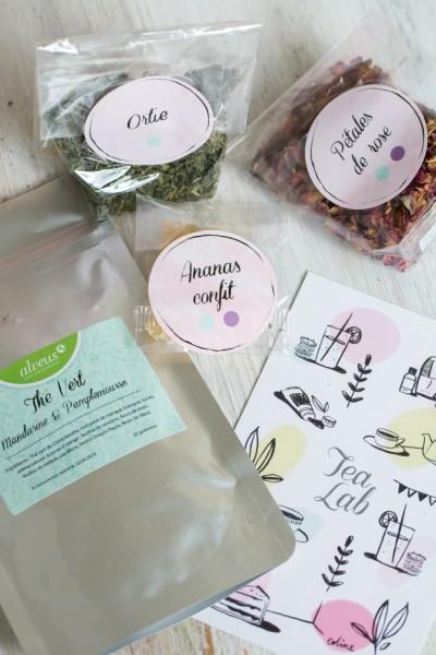 La thé box de mai - Tea Lab version thé vert