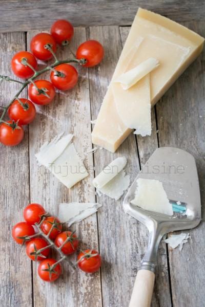 Clafoutis aux tomates cerises (et parmesan)