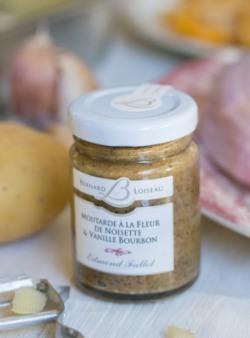 moutarde fleur de noisette et vanille bourbon | edelices.com
