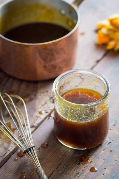 Sirop de citrouille aux épices / Pumpkin spice syrup