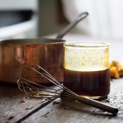 Pumpkin spice syrup {sirop de citrouille aux épices}