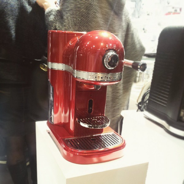 Collaboration de Nespresso avec KitchenAid