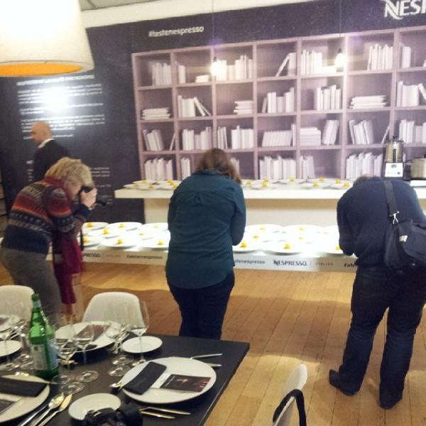 atelier nespresso blogueurs