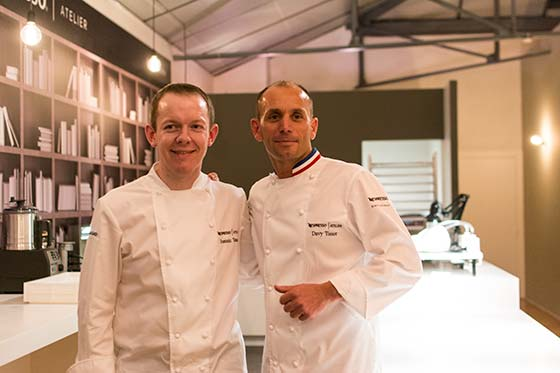 Chef Joannic Taton - Chef Davy Tissot