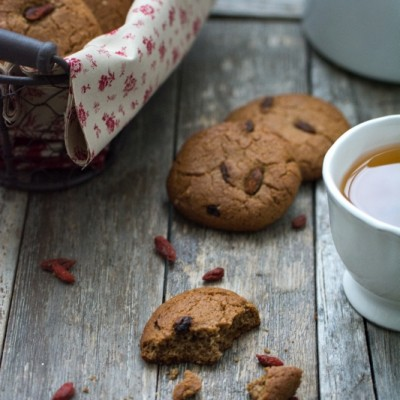 Cookies healthy aux baies de goji