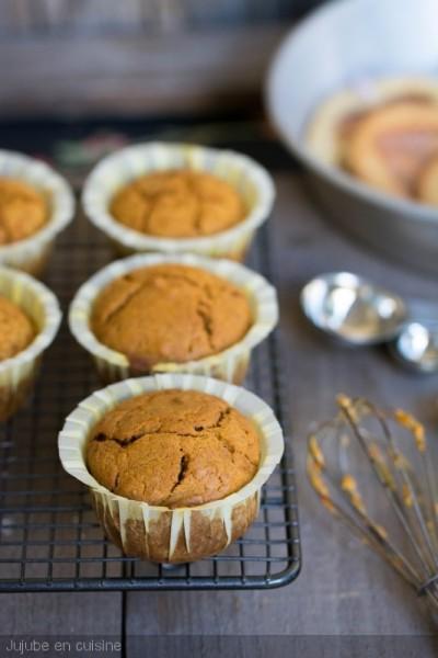 Pumpkin muffins (muffins à la courge)