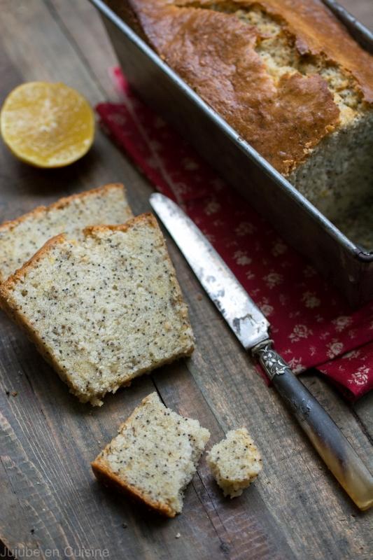 cake au citron bergamote et pavot | Jujube en cuisine
