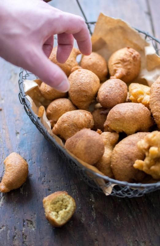 Hush Puppies - beignets à la farine de maïs