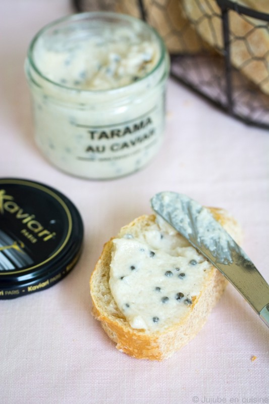 Le tarama au caviar