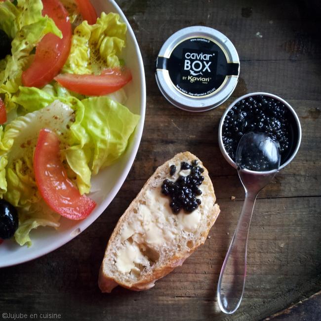 Caviar box par Kaviari - Dégustation du caviar en toute simplicité
