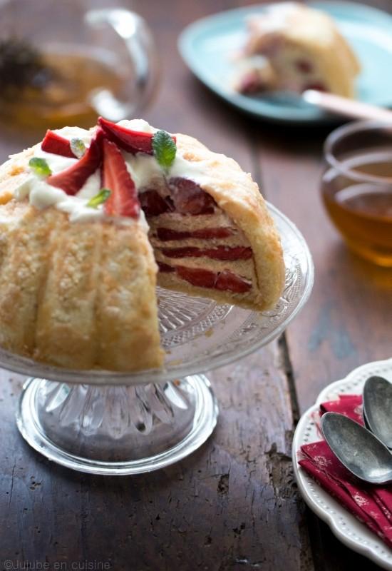 charlotte aux fraises | Jujube en cuisine