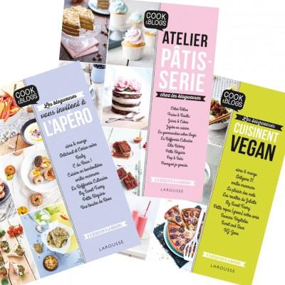 Cook & Blogs chez Larousse Cuisine, 3 livres à croquer ! (+ résultat du concours)