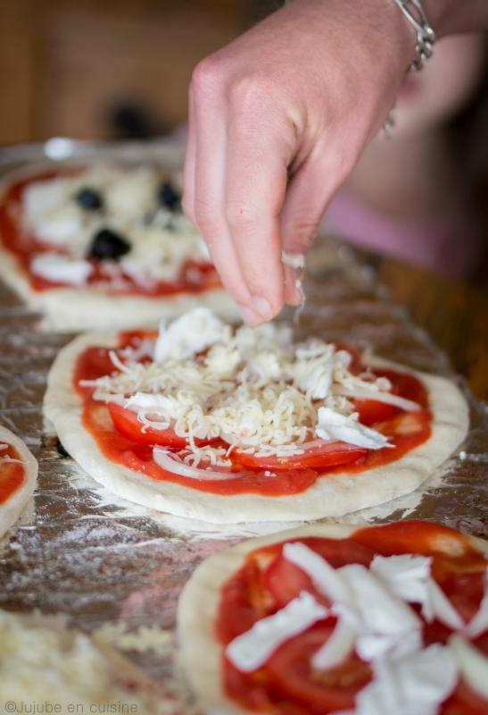 Faire sa pâte à pizza maison