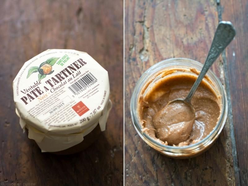 Pâte à tartiner au chocolat au lait et noix | edelices.com | Jujube en cuisine