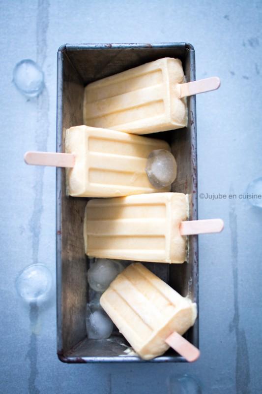 Glaces esquimaux à la mangue et crème de coco | Jujube en cuisine