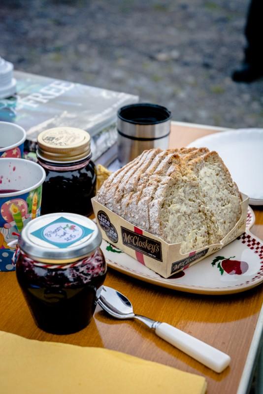 Confiture de bilberry sur tartine de soda bread beurré | Jujube en cuisine