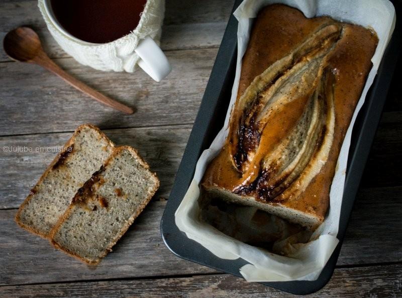 Banana bread citron pavot