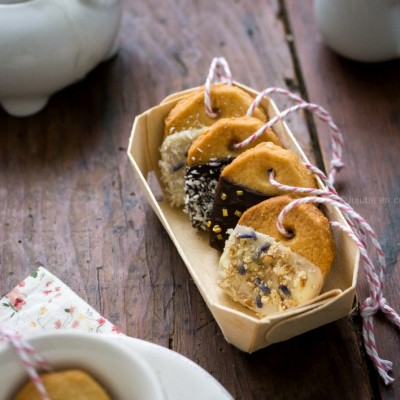 Biscuits sachet de thé (Tea bag biscuits)
