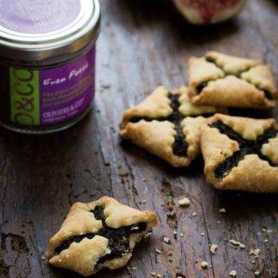 {APERO} Biscuits à l'olive noire et figue séchée