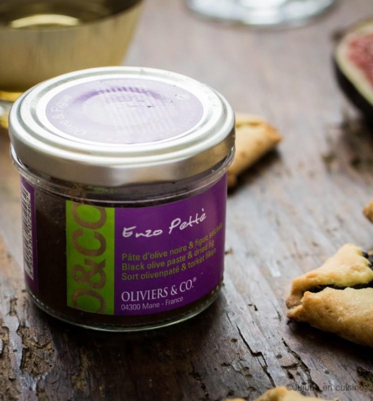 Pâte d'olive noire et figues séchées - Oliviers & co | Jujube en cuisine