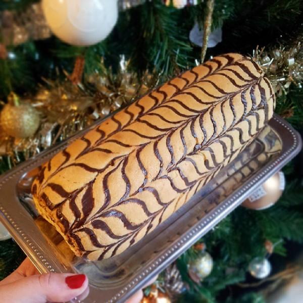 biscuit roule marbré comme un mille feuilles | Jujube en Cuisine