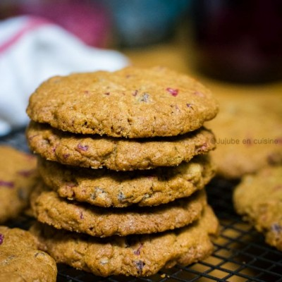 Cookies aux fruits rouges