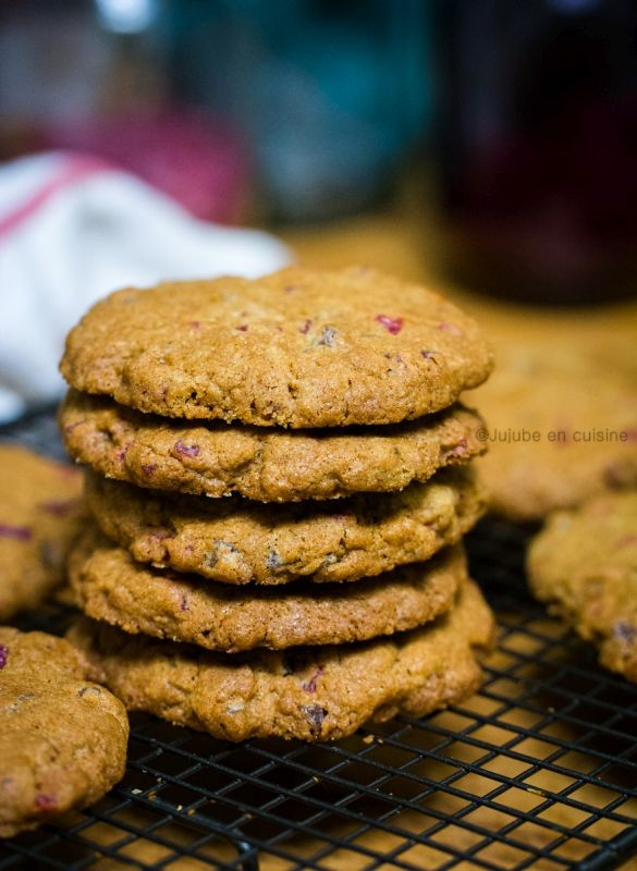 Cookies aux fruits rouges   Jujube en cuisine