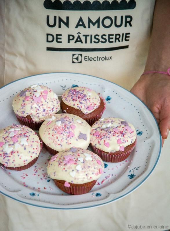 Red velvet cupcake | Jujube en cuisine