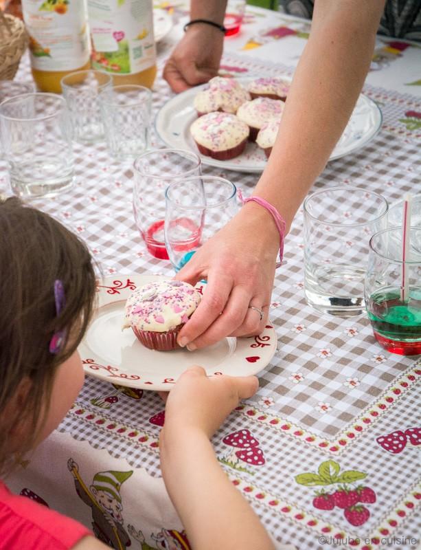 Red velvet cupcakes | Jujube en cuisine