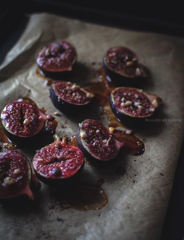 Figues rôties au miel, noisettes et cannelle | Jujube en cuisine