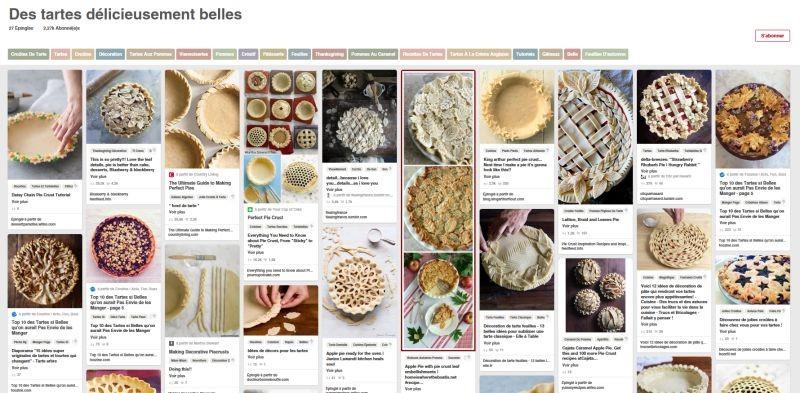 Quelques idées de décorations pour vos tartes
