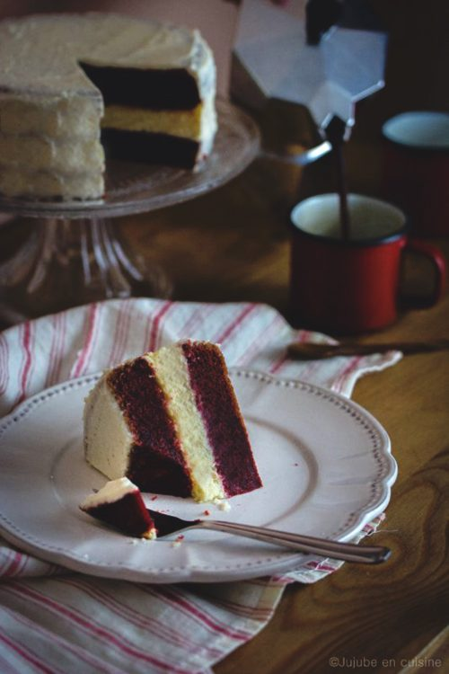 Red Velvet Cheesecake | Jujube en cuisine