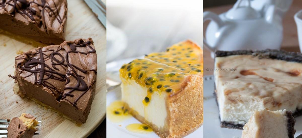 Les recettes de cheesecake