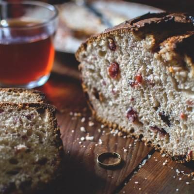 Barmbrack : gâteau Irlandais pour Halloween