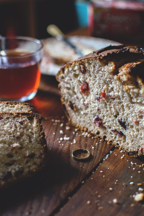 Barmbrack : gâteau Irlandais pour Halloween | Jujube en cuisine