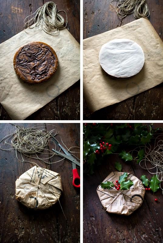 Emballage du caramel dur marbré chocolat | Jujube en cuisine