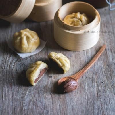 Banh bao sucrés (fourrés au gianduja)