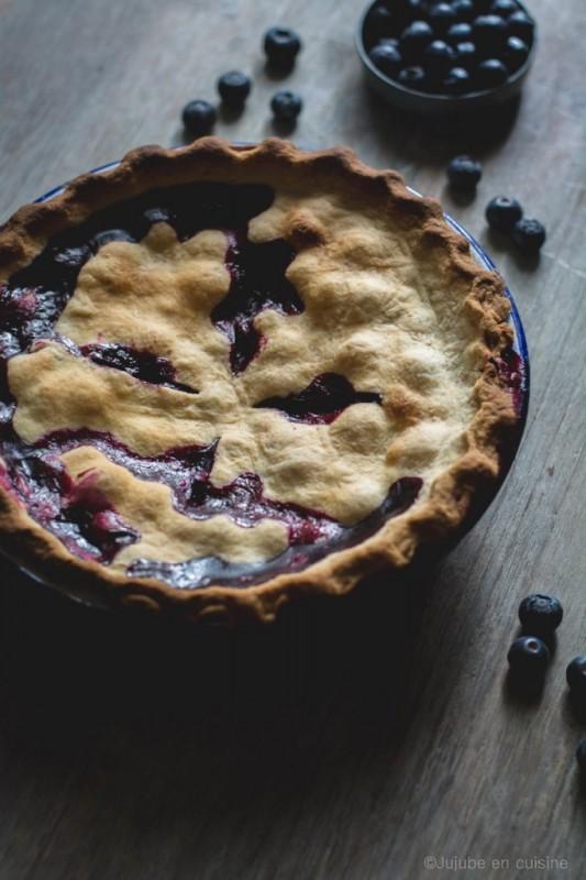 Tarte à la myrtille | Blueberry pie | Jujube en cuisine