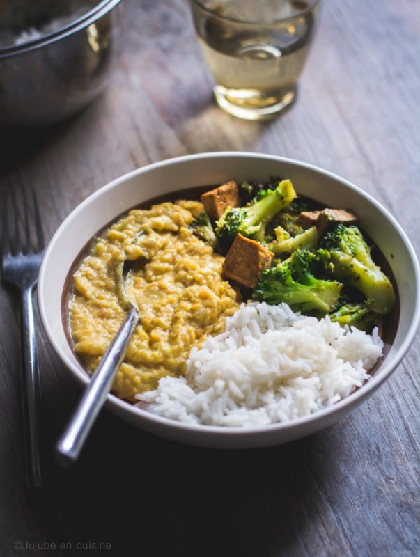 Tofu mariné, champignons et brocoli | Jujube en cuisine
