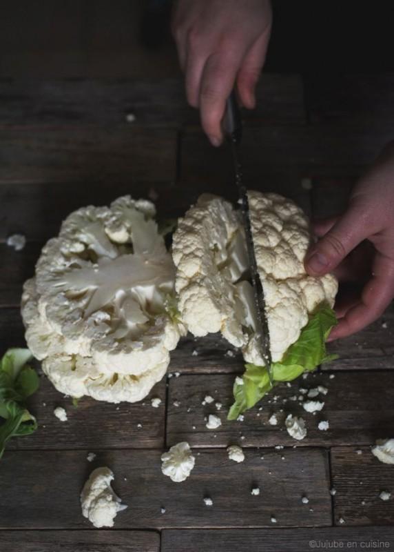 Tartines chaudes de chou-fleur (façon pizza) | Jujube en cuisine