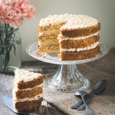 Layer cake à la noisette