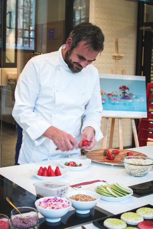 Chef Yannick Tranchant - Création de bouchée glacé pour la Maison Carte D'Or | Jujube en cuisine