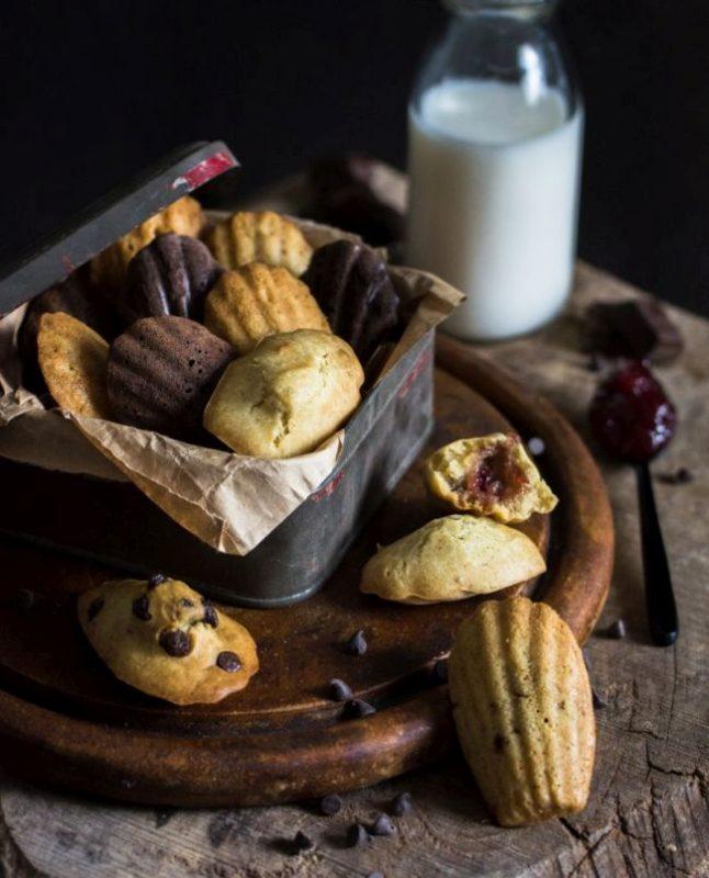 Madeleines vegan | Passionnément Vegan | Au vert avec Lili & Jujube en cuisine