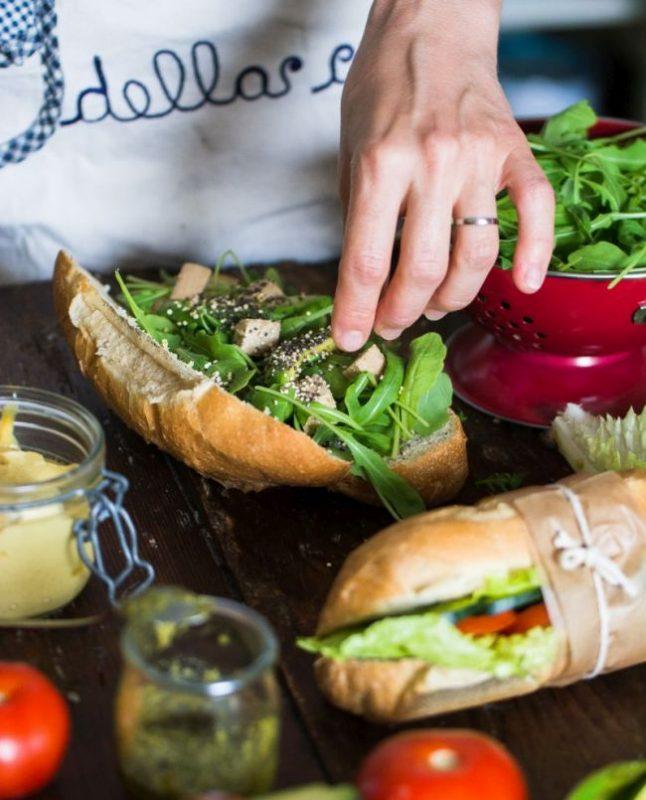 Idées pour sandwich végétaliens délicieux | Au vert avec Lili & Jujube en cuisine