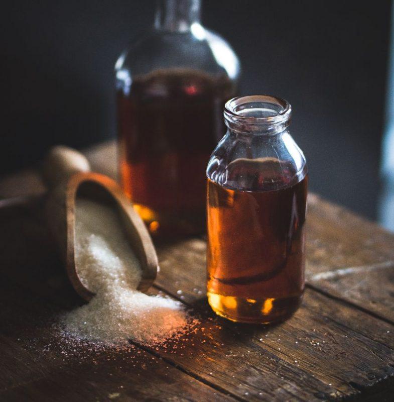 Sirop de caramel (caramel liquide)