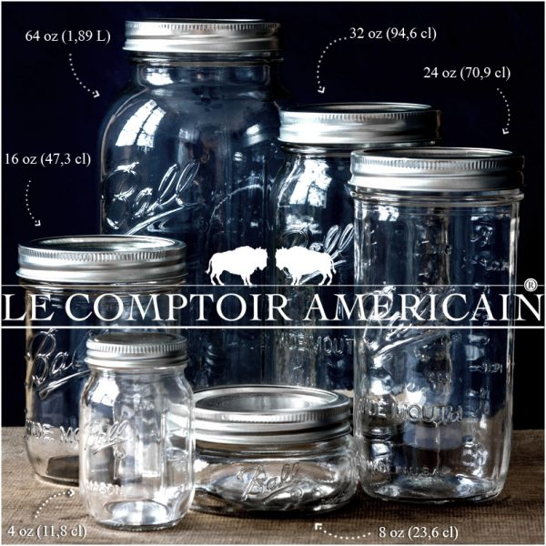 concours Le Comptoir Americain | Gagner un super lot de Mason Jar | Jujube en cuisine
