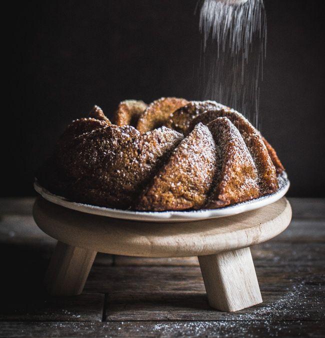 Gâteau au potiron (comme un carrot cake) pour dire au revoir à l'hiver