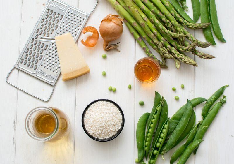 Risotto d'asperges et petits-pois | Jujube en cuisine